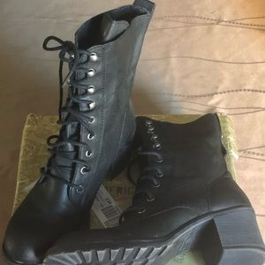 American Rag combat-style lace-up boots